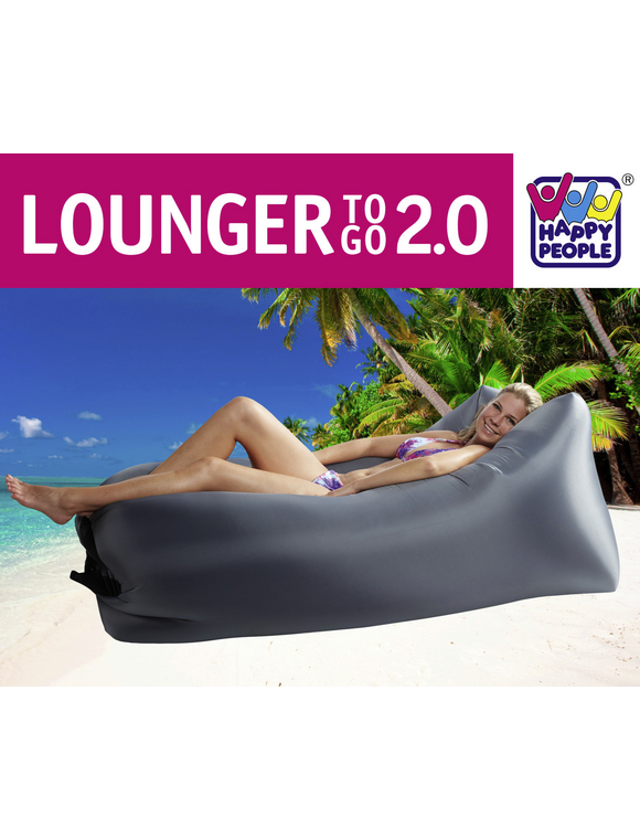 HAPPY PEOPLE Lounger »To Go 2.0«