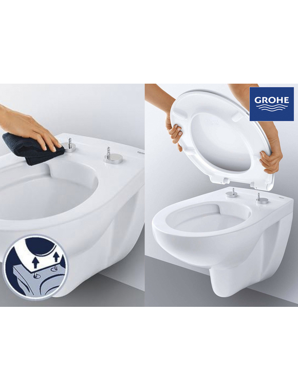 GROHE WC-Sitz  Quick-Release-Funktion