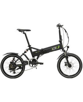 "LLOBE E-Bike »City III«, Schwarz 20 "", 7-gang, 10.4ah"