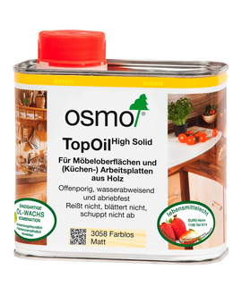 OSMO Ölwachs TopOil High Solid transparent 0,5 l