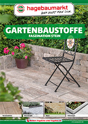 Flyer »Gartenbaustoffe«
