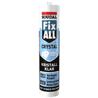 Dichtstoff, Fix ALL Crystal, Transparent, 290 ml