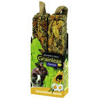 Nager-Snacks »Grainless Farmys«, Sonnenblume-Kamille, 8x140 g