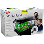 Tetra StarterLine LED Aquarium Schwarz 105L