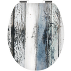 WC-Sitz »ART OF ACRYL«, Holzkern, oval mit Softclose-Funktion