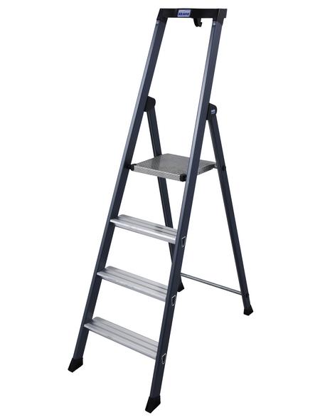 Stufen-Stehleiter »MONTO«, Anzahl Sprossen 4 | Baumarkt > Leitern und Treppen > Stehleiter | KRAUSE