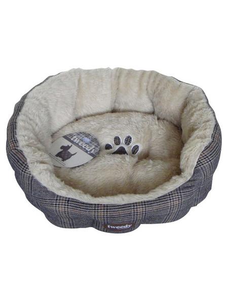 Heimtierbett, grau/beige | Garten > Tiermöbel > Hundekörbe-Hundebetten | Hagebau