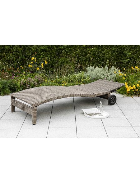 270 cm Hängematte mit Gestell Gartenliege Sonnenliege Gartenmöbel Hängeliege