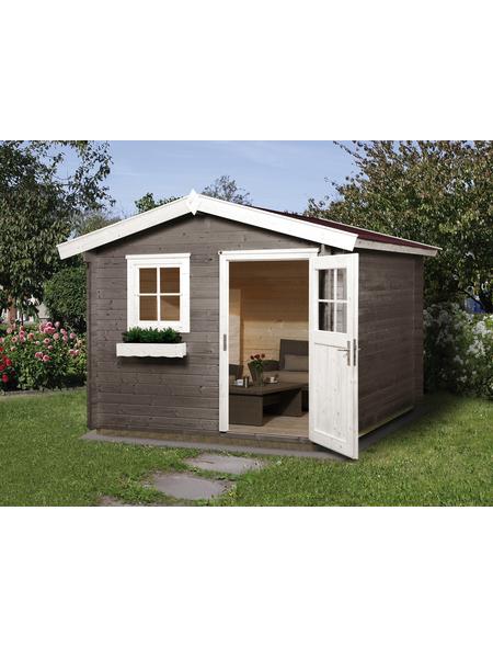 Gartenhaus »Premium«, BxT: 300 x 330 cm (Aufstellmaße), Satteldach