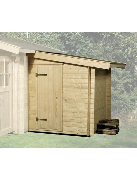 Anbauschuppen, Holz | Garten > Gerätehäuser | WEKA