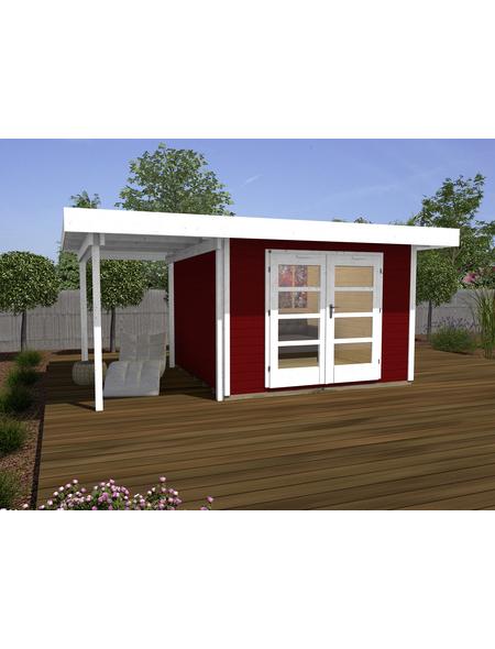 Gartenhaus »Designhaus 126 A Gr.1«, BxT: 500 x 314 cm (Aufstellmaße), Flachdach