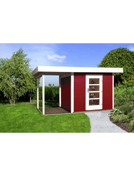 Gartenhaus »Designhaus 172 A Gr.2«, BxT: 430 x 375 cm (Aufstellmaße), Flachdach