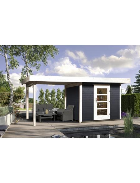 Gartenhaus »Designhaus 172 B Gr.2«, BxT: 575 x 375 cm (Aufstellmaße), Flachdach
