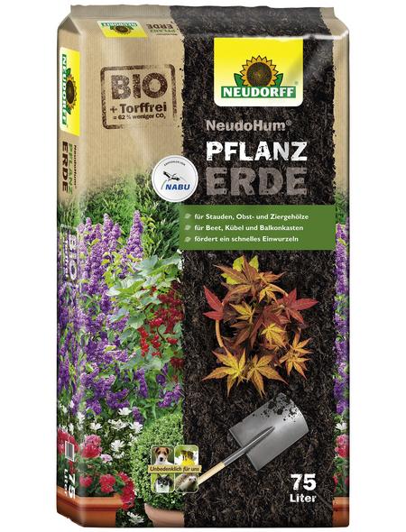 Pflanzerde »NeudoHum«, für Gehölzen, Sträuchern, Stauden und Sommerblumen, torffrei