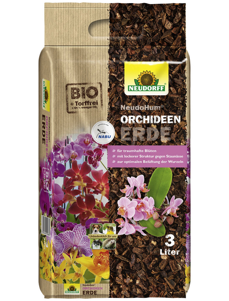 Pflanzerde »NeudoHum«, für Orchideen, torffrei