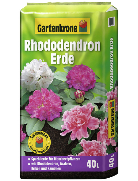 Pflanzerde, für Rhododendren, Azaleen, Eriken und Kamelien