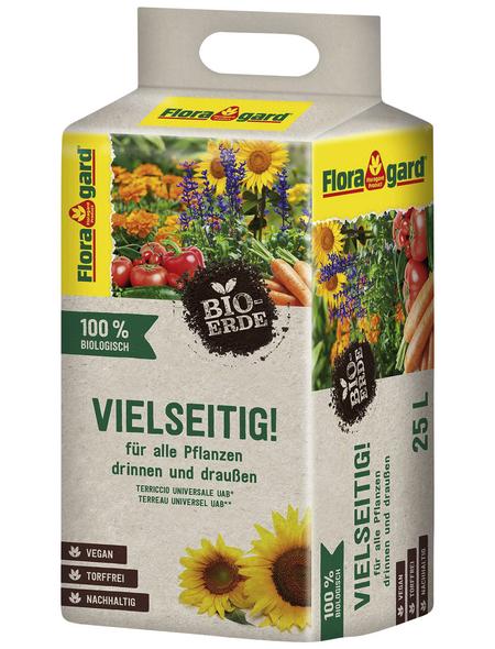 Blumenerde »Bio«, für Balkon-, Kübel-, Zimmerpflanzen, torffrei