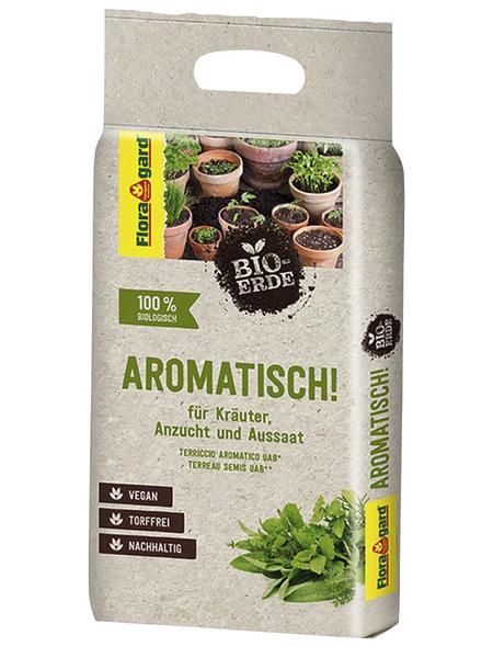 Pflanzerde »Bio«, für Kräuter & Aussaat, torffrei