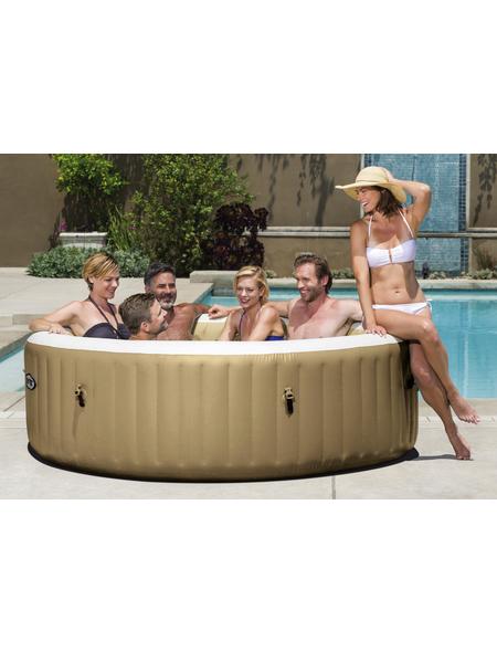 Whirlpool »PureSpa 85«, ØxH: 216 x 63,18 cm, beige, 6 Sitzplätze