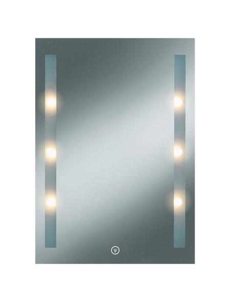 Kosmetikspiegel »Moon Light 1« | Bad > Bad-Accessoires > Kosmetikspiegel | Glas | KRISTALLFORM