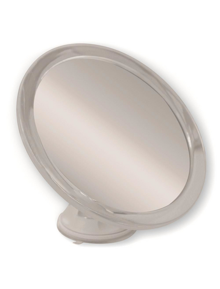 Kosmetikspiegel Rund | Bad > Bad-Accessoires > Kosmetikspiegel | Grau | Glas | KRISTALLFORM
