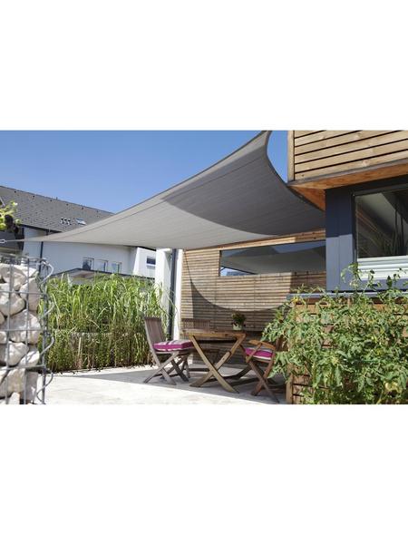 Sonnensegel »Adria«, 360 cm   Garten > Sonnenschirme und Markisen > Sonnensegel   Grau   Kunststoff - Polyethylen   WINDHAGER