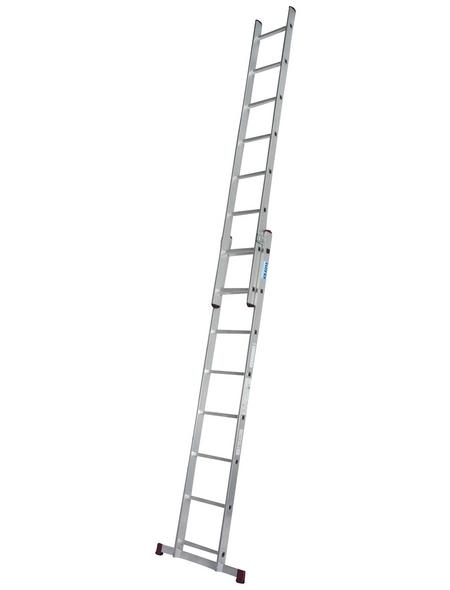 Schiebeleiter »CORDA«, Anzahl Sprossen 16 | Baumarkt > Leitern und Treppen > Schiebeleiter | KRAUSE