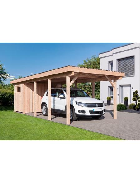 Einzelcarport »Erding 4«, natur | Baumarkt > Garagen und Carports > Carports | MR. GARDENER