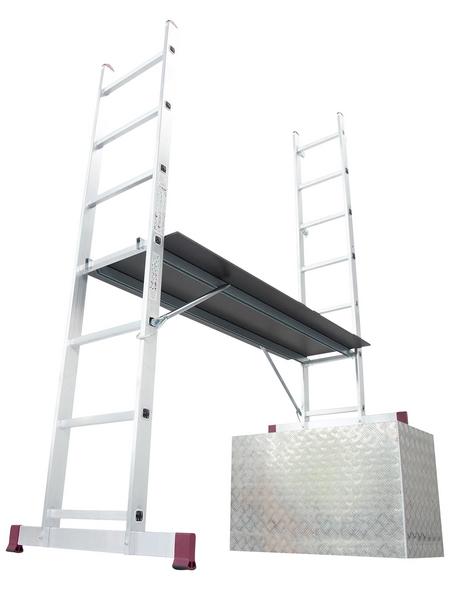 Leiterngerüst »CORDA«, 196 cm Gerüsthöhe | Baumarkt > Leitern und Treppen > Leitergerüst | KRAUSE