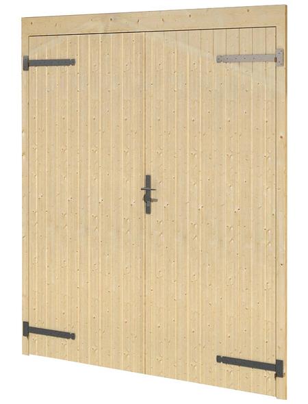 Garagentor, Breite: 239 cm, Holz, natur | Baumarkt > Garagen und Carports > Garagentore | LASITA MAJA