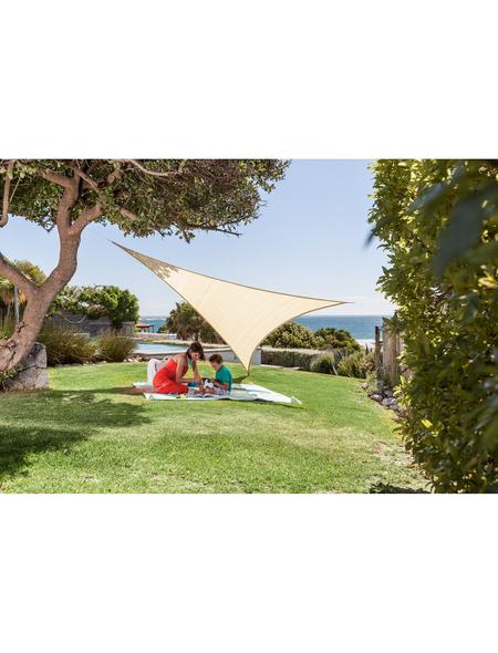 Sonnensegel »Adria«, 360 cm   Garten > Sonnenschirme und Markisen > Sonnensegel   Beige   Kunststoff - Polyethylen   WINDHAGER