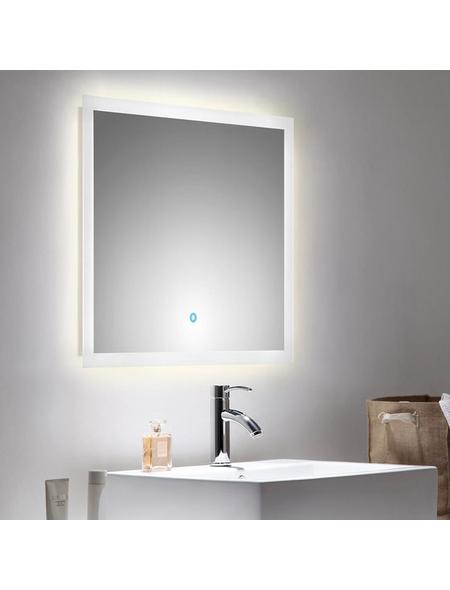 Kosmetikspiegel »LEVIA«, Weiß | Bad > Bad-Accessoires > Kosmetikspiegel | Weiß | Glas | POSSEIK