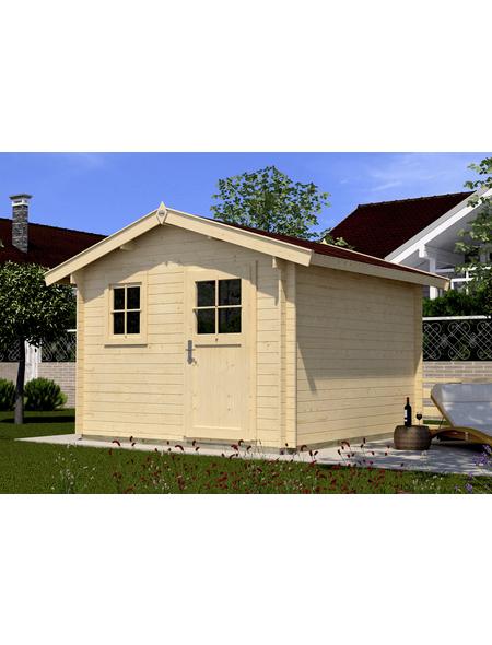 Gartenhaus »Premium«, BxT: 380 x 280 cm (Aufstellmaße), Satteldach