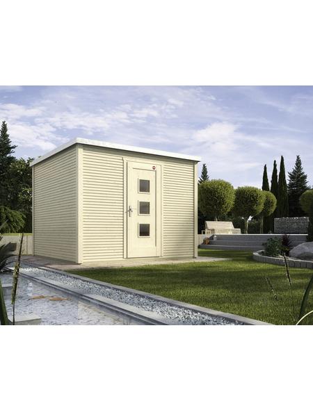 Gartenhaus »Designhaus wekaLine 413 Gr.2«, BxT: 310 x 310 cm (Aufstellmaße), Flachdach