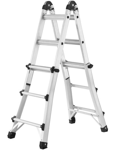 Schiebeleiter »MTL«, Anzahl Sprossen 4 | Baumarkt > Leitern und Treppen > Schiebeleiter | Hailo