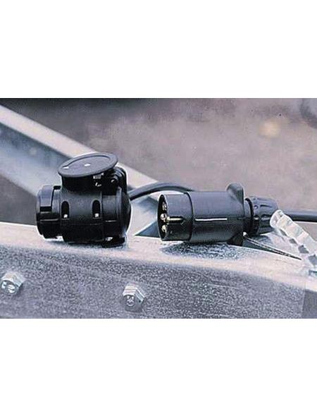 Adapter für Anhängerkupplung, HxL: 12 x 9 cm, Kunststoff