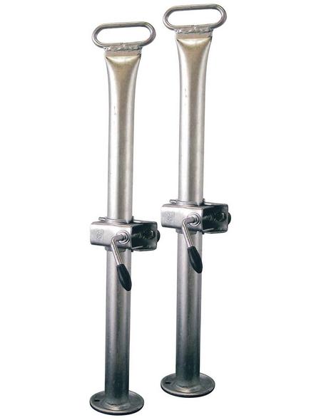 Anhänger-Abstellstütze, HxL: 14 x 94 cm, Stahl