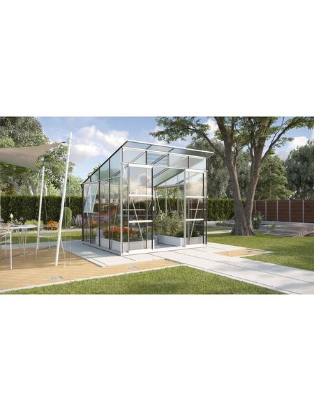 Gewächshaus »Freya«, B x L x H: 258  x 292  x 240  cm   Garten > Gewächshäuser   Aluminium - Sicherheitsglas   VITAVIA