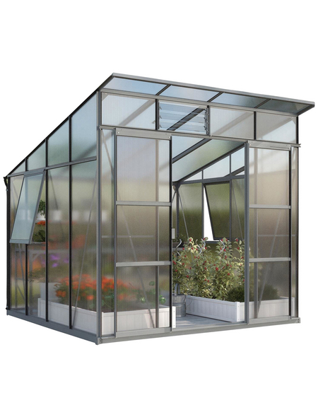 Gewächshaus »Freya 7600«, BxLxH: 258 x 292 x 240 cm | Garten > Gewächshäuser | VITAVIA