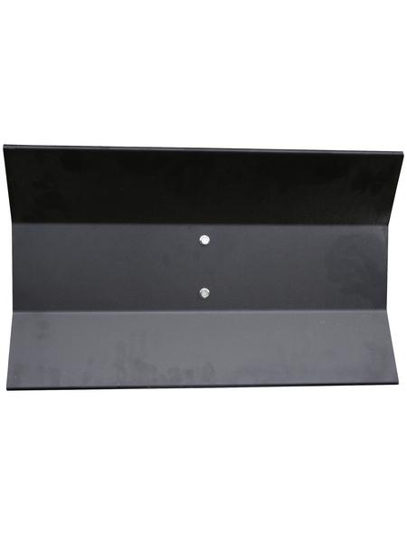 Schneeräumschild, schwarz, 8,8 kg