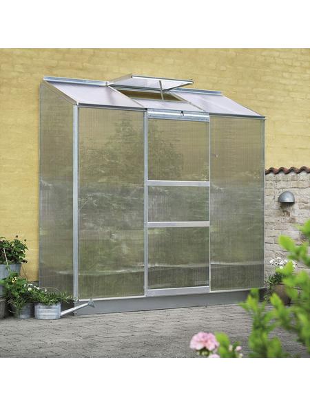 Gewächshaus »Altan«, B x L x H: 194  x 69  x 182  cm, Aluminium/Polycarbonat (PC) | Garten > Gewächshäuser | Hagebau
