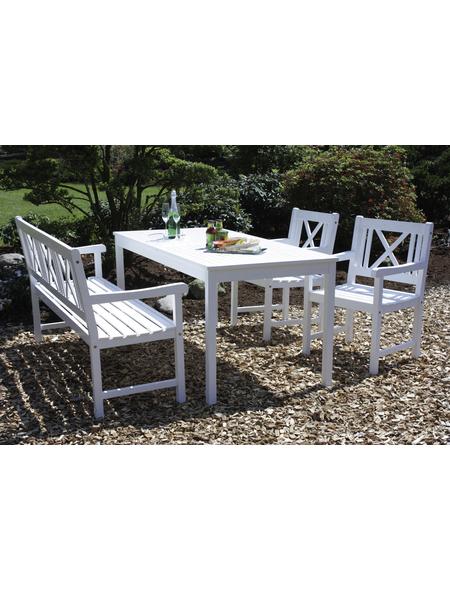 Weiss Akazie Akazienholz Holz Gartenmöbel Set Online Kaufen