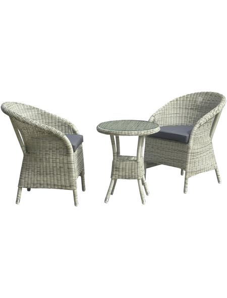 Gartenmöbelset »Valga«, 2 Sitzplätze, inkl. Auflagen