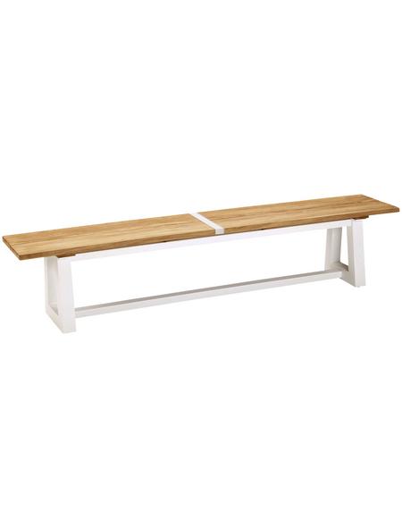 Gartenbank »Campione«, 4-Sitzer, BxTxH: 220 x 40 x 45 cm