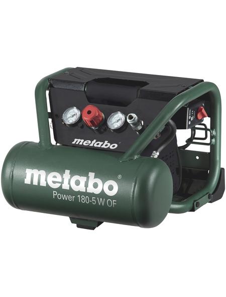 Kompressor »Power 180-5 W OF«, 8 bar, Max. Füllleistung: 90 l/min | Baumarkt > Werkzeug > Weitere-Werkzeuge | Metabo