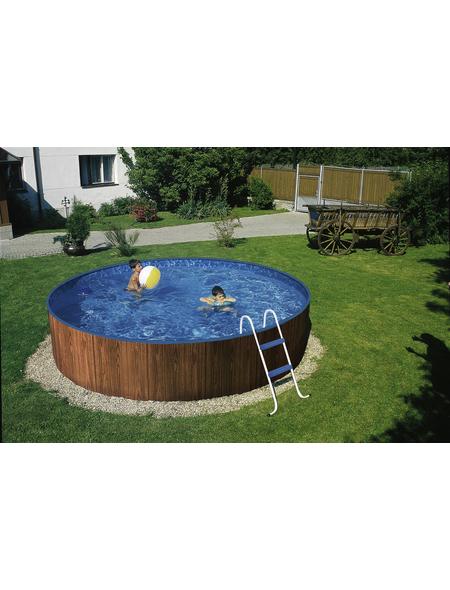 Rundpool , rund, Ø x H: 300 x 90 cm | Garten > Swimmingpools > Schwimmbecken | MYPOOL