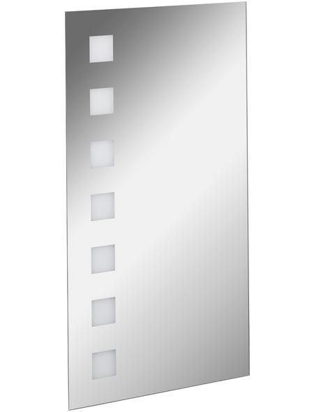Kosmetikspiegel, beleuchtet, BxH: 40 x 75 cm   Bad > Bad-Accessoires > Kosmetikspiegel   Glas - Spiegelglas   Fackelmann
