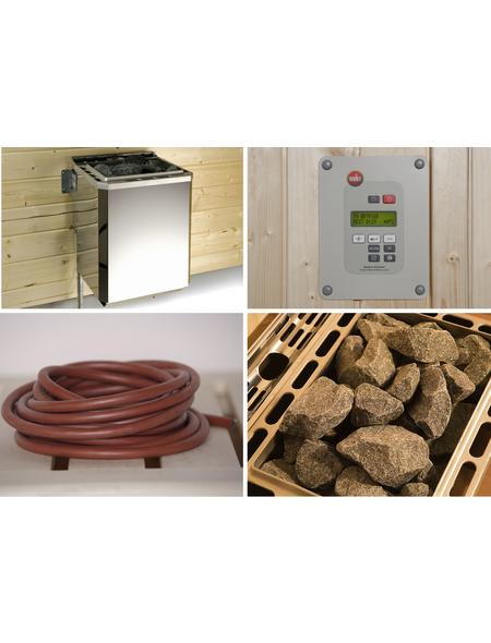Saunaofen, 60 min. Aufheizzeit | Bad > Sauna & Zubehör > Saunaöfen | Edelstahl - Stahl | WEKA