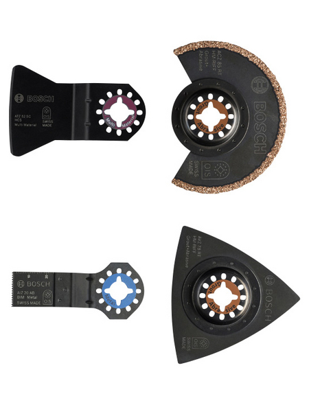 Werkzeug-Zubehör-Set »Starlock«, Metall | Baumarkt > Werkzeug > Werkzeug-Sets | Bosch