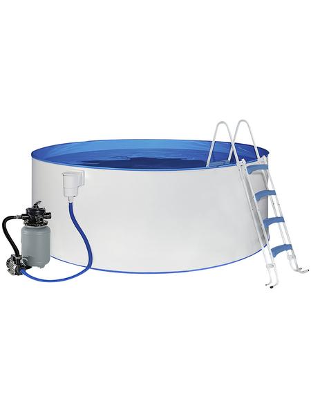 Rundpool, Ø x H: 550  x 120 cm | Garten > Swimmingpools > Schwimmbecken | MYPOOL